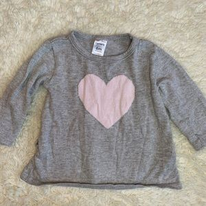 Baby girl heart sweater from Carter's